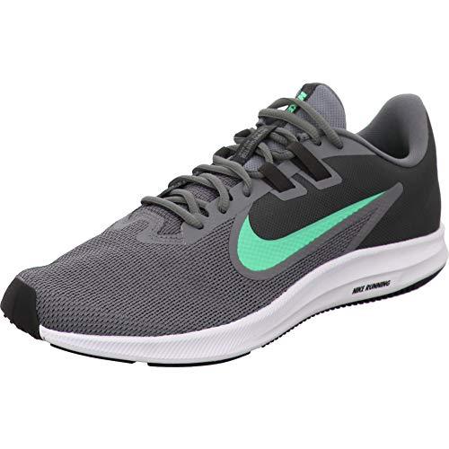 Nike Downshifter 9, Zapatillas de Correr Hombre, Gris (Cool Grey/Electro Green/Anthracite/Black/White 004),...