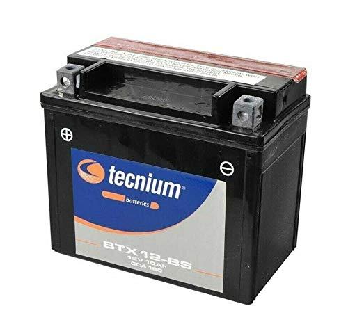 Batteria Tecnium BTX12-BS YTX12-BS batteria attivata Pronta all'uso scooter