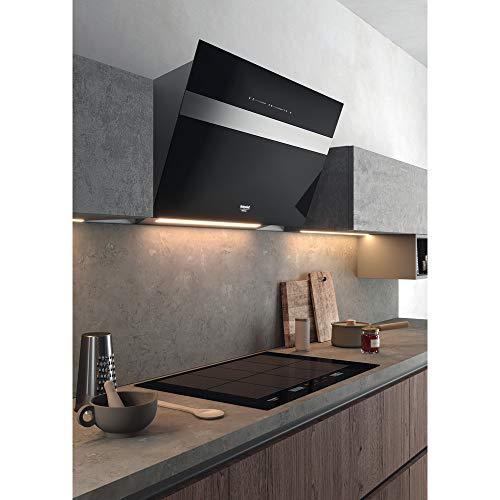 Hotpoint-Ariston ACPH 778 C/NE hobs noir intégré avec plaque à induction, verre et céramique, rectangulaire, rectangulaire