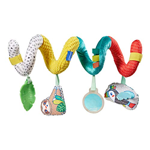 Infantino Stretch & Spiral Activity Toy – Textured Play Activity Toy for Sensory Exploration and Engagement, Ages 0 and…