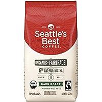 Seattle's Best Coffee 6th Avenue Bistro Organic Dark Roast Ground Coffee