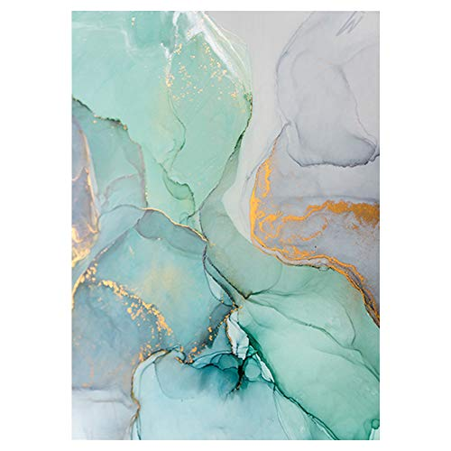 Lienzo de estilo nórdico, abstracto, para colgar en la pared, sin marco, decoración para salón, dormitorio, oficina, hotel o decoración de fondo, No nulo, 7, 40x60cm