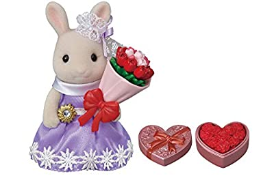 Calico Critters, Town Series, Ready to Play Set, Flower Gifts Playset
