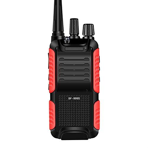 HJWL Walkie Talkie 5W 1800mAh Comunicación por Radio UHF De 16 Canales De Larga Distancia Portátil De Radio De Dos Vías