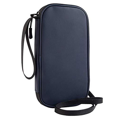 パスポートケース 首下げ RFID スキミング防止 ネックポーチ 貴重品入れ セキュリティケース 四つのパスポート 大容量 パスポート ポーチ、防水性、耐久性、軽量でポータブル パスポート バッグ ホルダー 海外旅行 便利グッズ NEWFIRE PB28-
