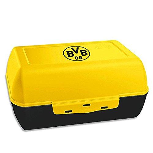 Borussia Dortmund Brotdose / Lunchbox / Frühstücksbox / Vorratsdose Logo BVB 09