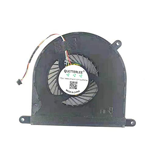 """QUETTERLEE Replacement NEW Cooling Fan For Razer Blade 14"""" 2013-2015 RZ09-0116 RZ09-0195 RZ09-01161E31 / RZ09-01161E31-R3U1 RZ09-01953E72 / 01952E71 DFS501105PQ0T / R1 FAN"""