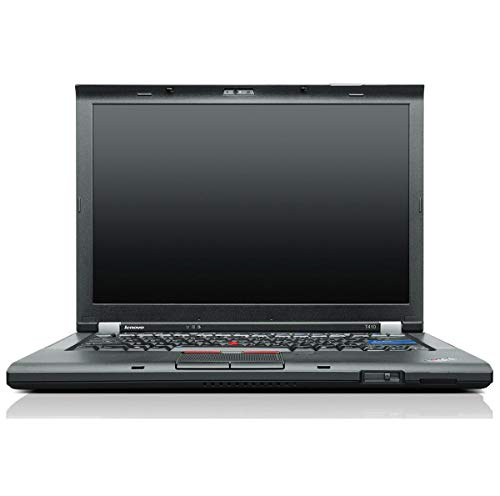 Lenovo ThinkPad T410 ((35,8cm) 14,1 Zoll Notebook, Intel Core i5-520M , 2X 2,4 GHz, 160GB HDD 7200rpm, Renew Keyboard, Windows 7 PRO) (Zertifiziert und Generalüberholt)
