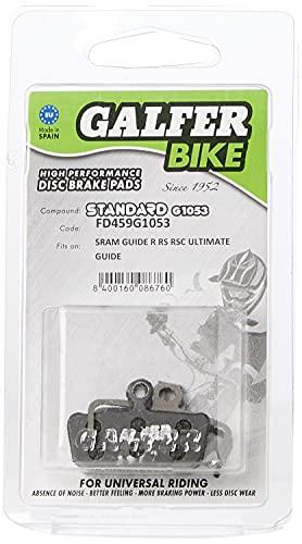 GALFER Bike Standard Brake Pads SRAM Guide/AVID XO TRAI, Unisex niños, Negro,...