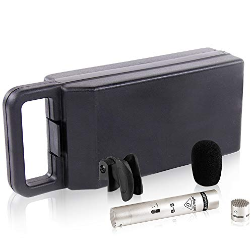 BEHRINGER B-5 Gold-Sputtered Diaphragm Condenser Microphone Silver, (B5)