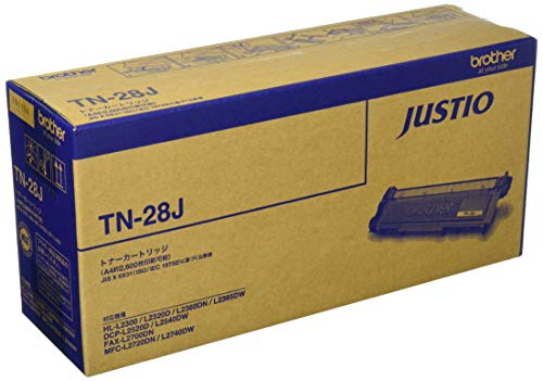 【brother純正】トナーカートリッジ TN-28J 対応型番:MFC-L2740DW、DCP-L2540DW、DCP-L2520D、HL-L2365DW、HL-L2320D 他
