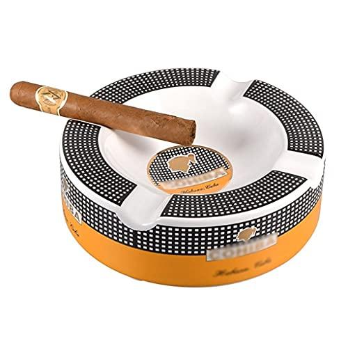 Titular De Ceniza De Cigarrillo De Cigarrillo De Cigarrillo De Cenicero Cenicero De Cerámica De La Sala De Estar Titular De Ceniza De Cigarros Gran Canal De Humo De Calibre