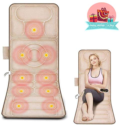 JIGAN Shiatsu Chair with Heated Function, Massager for Back Neck Hip Leg, Best Gift for Mother, Dad, Wife Or Husband