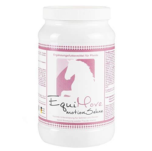 EquiMove Motion Sehne. Ergänzungsfuttermittel (1,5 kg) für Pferde. Bei Sehnen- oder Bindegewebsproblemen mit MSM und mehr.