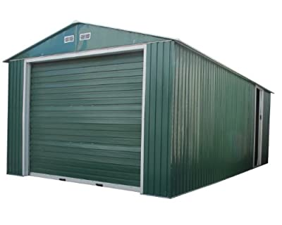 Duramax 50961 Metal Garage Shed with Side Door, 1x20in by US Polymers Inc.