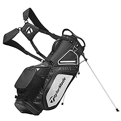 TaylorMade TM20Stand8.0BagBlackWhtChrcl Bolsa con