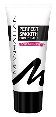 Manhattan Perfect Smooth Skin Primer – Face Primer als make-up basis voor het minimaliseren van poriën – kleur transparant 001 – 1 x 30 ml