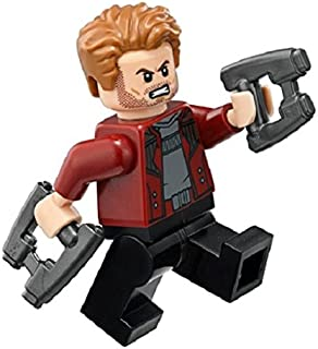 LEGO Avengers - Infinity War: Star Lord Minifigure with Blasters 2018