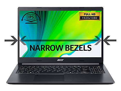 Acer Aspire 5 A515-55 15.6 inch Laptop - (Intel Core i5-1035G1, 8GB RAM, 512GB SSD, Full HD Display, Windows 10, Black) – Amazon Exclusive