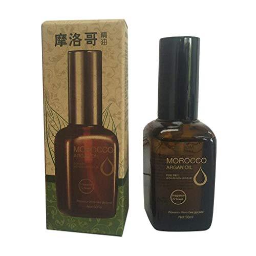50 ml Marokko Arganolie Haar etherische olie Droogschade Haarbehandeling Haarverzorging Bruin