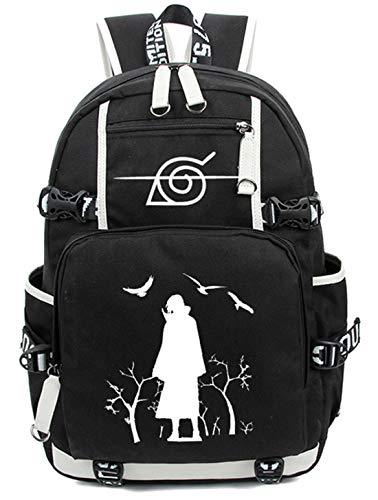 YOYOSHome Anime Naruto Cosplay Bookbag Messenger Bag Backpack School Bag