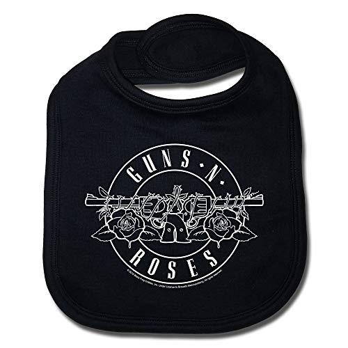 Guns N Roses Bullet Babero para bebé