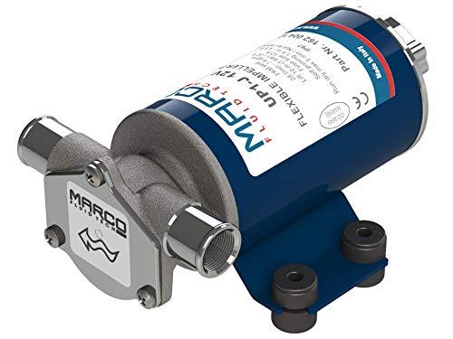 Marco 16200412 UP1-J Autoadescante Elettrico Pompa con Girante In Gomma, 28 l/min, Confezioni da 12