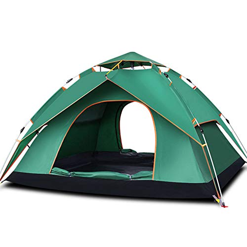 Fang zhou Tent, Simple Detachable Versatile Easy Carry Light Stable Large Double Doors in-and-Out, Best Outdoor Equipment Gift
