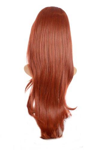 Extensiones pelo V-Tress color henna rojo onda natural