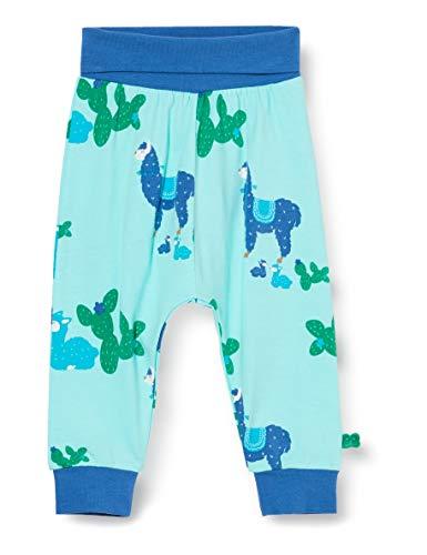 Fred'S World By Green Cotton Lama Pants Pantalon, Multicolore (Aqua 014481201), 74 Bébé garçon