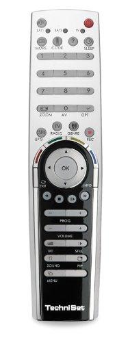 TechniSat Komfort Fernbedienung für DigiCorder HD S2 Plus Silber