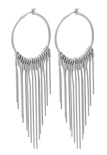 SENCE Copenhagen Couture Ohrringe Earrings matt silver L015