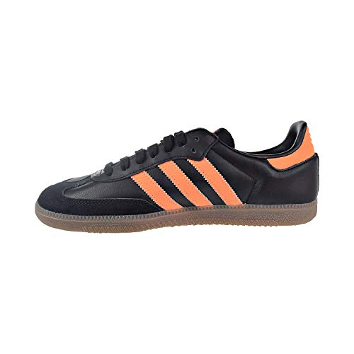 adidas Men's Samba OG Black/Orange/Gold Shoes - B75804 (8)