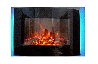 2019 TRUFLAME 7 Colour Changing LED Wall Mounted Log Effect Electric Fire
