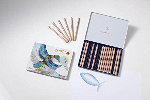 Stockmar Buntstifte, dreieckig, 18 Farben + 1 Graphitstift