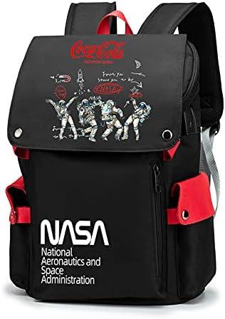 nasa backpack laptop travel 40% OFF Cheap Sale bag trend NASA Super Special SALE held fashion logo