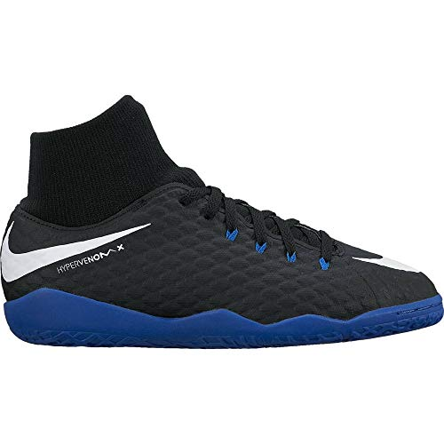 Nike JR Hypervenomx Phelon 3 DF IC schwarz - 5.5Y