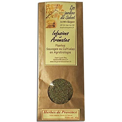 Herbes de Provence Bio 40 g Les Jardins du Salvet Saveurs Sauvages du Sud