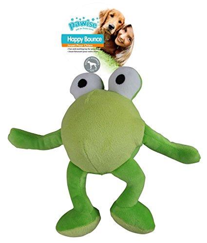 PETGARD Hundespielzeug Plüschball Frosch - Happy Bouncer Frog Small