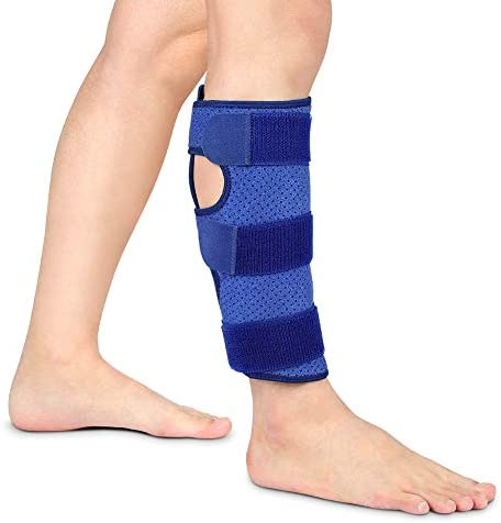 Calf Brace for Torn Calf Muscle Compression Shin Splint Support Calf Strain Bandage for Sprains product image