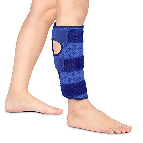 Haofy Wadenbandage Verstellbar, Kompressions Waden bandage Neopren Einstellbare Wadenstütze für Muskelschmerzen, Zerrissene Waden Schwellungen Verstauchungen, Unterschenkelbandage für Herren Damen