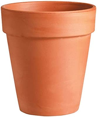deroma 0d110fz 4.3 -Inch, Terra Cotta, Tall Pot
