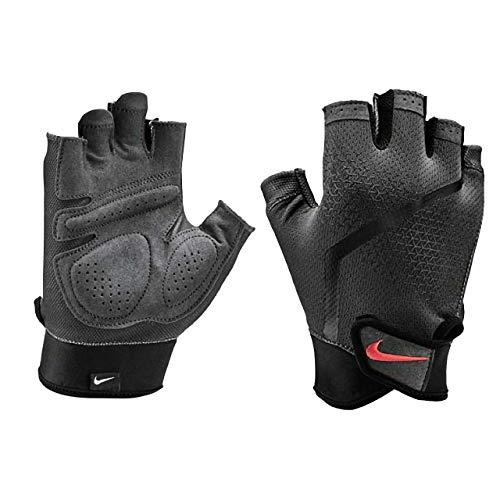 Nike Herren Mens Extreme Fitness Gloves 937 Anthracite/Black/lt c Handschuhe, L