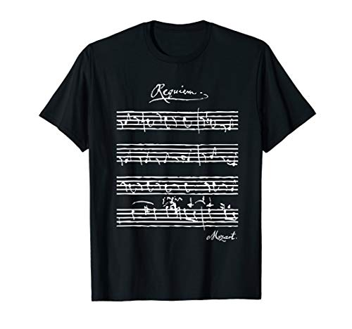 Mozart Requiem, Mozart Original-Notenblatt, Klassische Musik T-Shirt