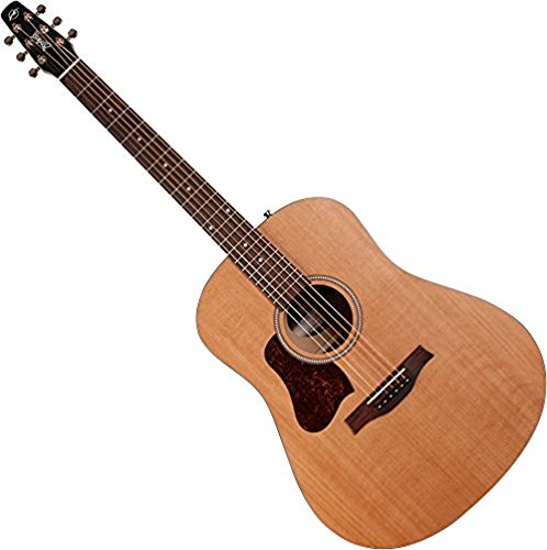 Seagull S6 left-handed acoustic guitar