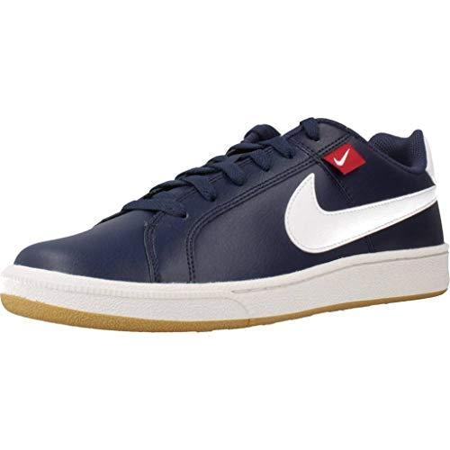 Nike Court Royale Tab, Zapatillas de Running para Asfalto para Hombre, Multicolor (Midnight Navy/White/Gym Red/FLT Gold 400), 42 EU