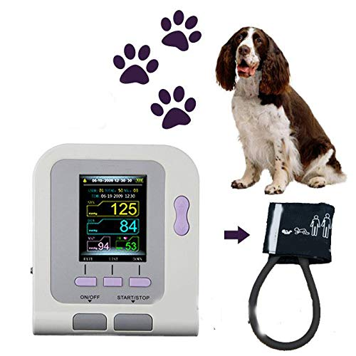 LWQ Couleur numérique Tensiomètre vétérinaire Automatique PNI, l'utilisation des Animaux