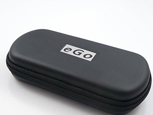 Zipper Etui schwarz groß für e-Zigaretten eGo-T / eGo-C / eGo-W / 510 / 510-T von Hannets®