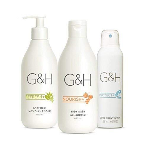 Beruhigendes und erfrischendes Konzentrat G & H Langanhaltend - Das G&H Beruhigende Set enthält drei Produkte, die Ihre Haut beruhigen, hydratisieren und schützen.