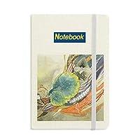 ピーコックガール中国のアンティークのイラストレーター ノートブッククラシックジャーナル日記A 5